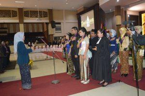 Sumpah Dokter Hewan FKH UB Periode V Tahun 2017 (2)